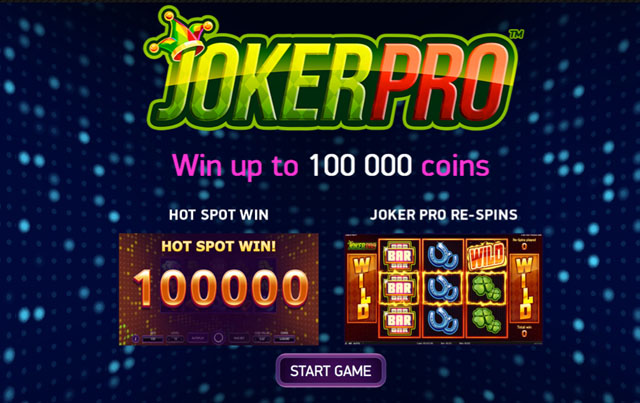 NetEnt Slot Machine Joker PRO