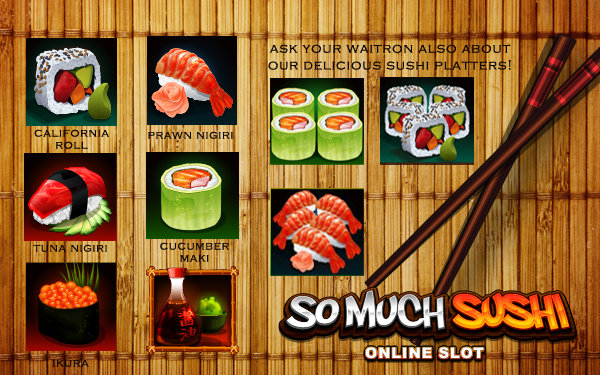 So Much Sushi online slot casino Frank