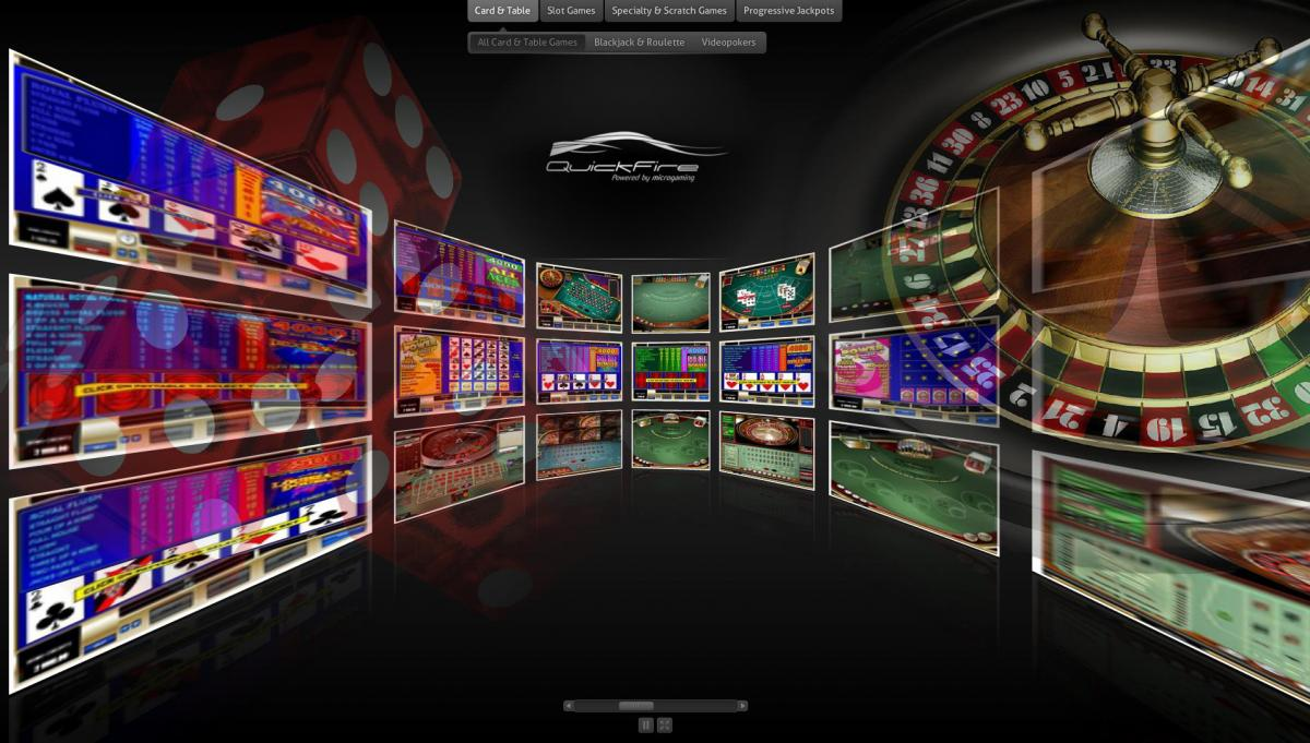 Slot-machine Microgaming